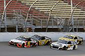 #95: Christopher Bell, Leavine Family Racing, Toyota Camry Procore and #8: Daniel Hemric, JR Motorsports, Chevrolet Camaro Poppy Bank