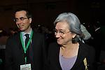 ROSI BINDI CON MATTEO COLANINNO<br /> ASSEMBLEA PARTITO DEMOCRATICO - HOTEL MARRIOT ROMA 2009
