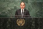 Albania<br /> H.E. Mr. Bujar Nishani<br /> President<br /> <br /> <br /> General Assembly Seventy-first session, 17th plenary meeting<br /> General Debate