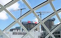 Nederland Den Haag -  maart 2021.  Bouwen in Den Haag centrum. Provast.  Foto  ANP / Hollandse Hoogte / Berlinda van Dam