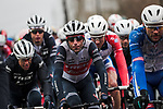 Vincenzo Nibali (ITA) Trek-Segafredo in the peloton during a wet Stage 3 of the 78th edition of Paris-Nice 2020, running 212.5km from Chalette-sur-Loing to La Chatre, France. 10th March 2020.<br /> Picture: ASO/Fabien Boukla | Cyclefile<br /> All photos usage must carry mandatory copyright credit (© Cyclefile | ASO/Fabien Boukla)