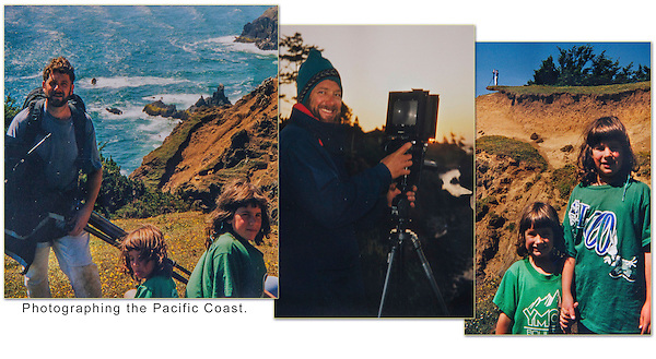 We spent two summers photographing California, Oregon and Washington, especially along the rugged Pacific Coast of the USA. Watch out for the eroding coastline.
