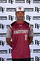 Andre Duplantier II (8) of Summer Creek High School in Houston, Texas during the Baseball Factory All-America Pre-Season Tournament, powered by Under Armour, on January 12, 2018 at Sloan Park Complex in Mesa, Arizona.  (Mike Janes/Four Seam Images)