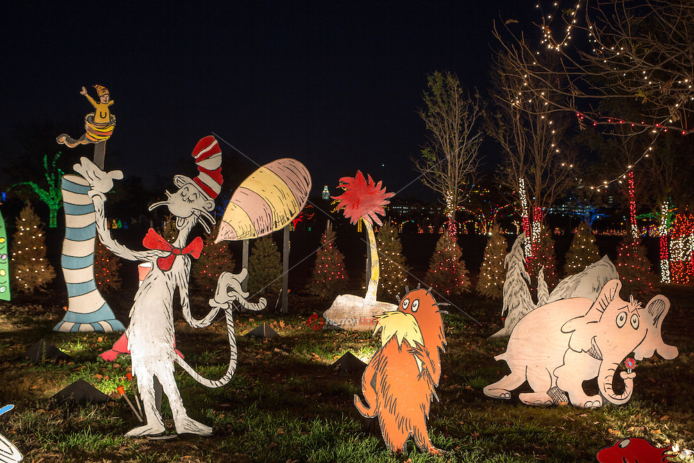 Austin Trail of Lights holiday exhibit returns with classic storybook character displays