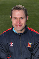 Essex CCC Head Physiotherapist Chris Clarke-Irons - Essex County Cricket Club Press Day at the Essex County Ground, Chelmsford, Essex - 02/04/13 - MANDATORY CREDIT: Gavin Ellis/TGSPHOTO - Self billing applies where appropriate - 0845 094 6026 - contact@tgsphoto.co.uk - NO UNPAID USE.