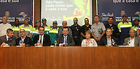 ATENCAO EDITOR: FOTO EMBARGADA PARA VEICULO INTERNACIONAL - SAO PAULO; SP; 11 SETEMBRO 2012 - Coletiva do prefeito Kassab no lançamento do projeto Pode entrar que a casa é sua na preifura de São Paulo nessa terça feira; 11 (FOTO: LEVY RIBEIRO / BRAZIL PHOTO PRESS)