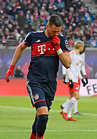 18.03.2018,  Football 1.Liga 2017/2018, 27. match day, RB Leipzig - FC Bayern Muenchen, in Red Bull Arena Leipzig.  Sandro Wagner (FC Bayern Muenchen)  1:0. *** Local Caption *** © pixathlon<br /> <br /> +++ NED out !!! +++<br /> Contact: +49-40-22 63 02 60 , info@pixathlon.de
