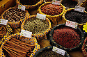 Spices in a market in Provence.