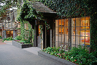 GALLERY WINDOW with sculpture on display - CARMEL, CALIFORNIA