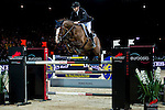 competes at the Hong Kong Jockey Club trophy during the Longines Hong Kong Masters 2015 at the AsiaWorld Expo on 13 February 2015 in Hong Kong, China. Photo by Juan Flor / Power Sport Images