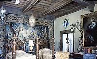Hearst Castle: Cloister Bedroom  (Finley Holiday Films)