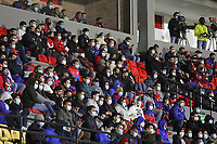 PASTO - COLOMBIA, 02-08-2021:Deportivo Pasto y Deportivo Pereira en partido por la fecha 3 como parte de la Liga BetPlay DIMAYOR II 2021 jugado en el estadio Departamental Libertad  de la ciudad de Pasto. / Deportivo Pasto and Deportivo Pereira in match for the date 3 as part of the BetPlay DIMAYOR League II 2021 played at Departamental Libertad stadium in Pasto city. Photo: VizzorImage / Leonardo Castro / Contribuidor