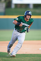 Daytona Tortugas pinch runner Brian O'Grady (12) running the bases during a game against the Brevard County Manatees on August 14, 2016 at Space Coast Stadium in Viera, Florida.  Daytona defeated Brevard County 9-3.  (Mike Janes/Four Seam Images)