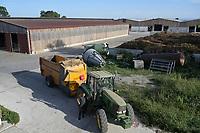 CROATIA, cattle fatening farm ERGELA VIŠNJICA for livestock export / KROATIEN, Tiermastbetrieb ERGELA VIŠNJICA, Rinderzucht für den Fleisch Export, 2000 Tiere