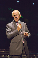 09-02-13, Tennis, Rotterdam, qualification ABNAMROWTT, Mr. Zalm, CEO of the ABNAMRO Bank