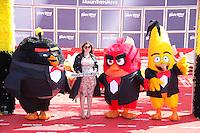raya abirached en photocall pour celebrer avec le film angry birds l ouverture du festival du film a cannes le mardi 10 mai 2016