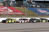 #19: Brandon Jones, Joe Gibbs Racing, Toyota Supra Menards/Swiffer, #20: Harrison Burton, Joe Gibbs Racing, Toyota Supra DEX Imaging, #18: Riley Herbst, Joe Gibbs Racing, Toyota Supra Monster Energy