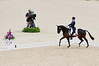 AUS-Sam Griffiths (HAPPY TIMES) 2012 LONDON OLYMPICS (Saturday 28 July 2012) EVENTING DRESSAGE: INTERIM-7TH (45.40)