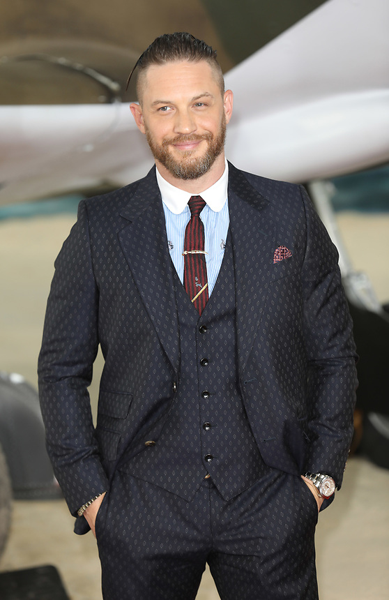 """Tom Hardy<br /> at the """"Dunkirk"""" World Premiere at Odeon Leicester Square, London. <br /> <br /> <br /> ©Ash Knotek  D3289  13/07/2017"""