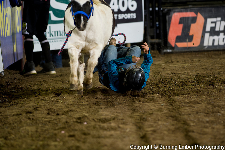 Wild Pony Race at the NILE Rodeo 3rd Perf Oct 19th, 2019.  Photo by Josh Homer/Burning Ember Photography.  Photo credit must be given on all uses.