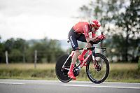 Tom Dumoulin (NED/Sunweb)<br /> <br /> Stage 4 (ITT): Roanne to Roanne (26.1km)<br /> 71st Critérium du Dauphiné 2019 (2.UWT)<br /> <br /> ©kramon