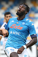 Tiemoue Bakayoko of SSC Napoli looks on<br /> during the Serie A football match between SSC Napoli and Atalanta BC at stadio San Paolo in Napoli (Italy), October 17th, 2020. <br /> Photo Cesare Purini / Insidefoto