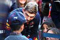 #33 Max Verstappen Aston Martin Red Bull Racing Honda. Formula 1 World championship 2020, Winter testing days #1 2020 Barcelona, 21-02-2020<br /> Photo Federico Basile / Insidefoto