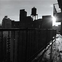 Sunlight between NYC buildings<br />