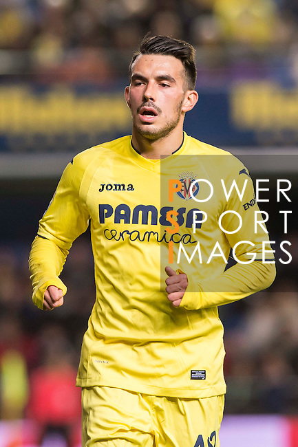 Nicola Sansone of Villarreal CF looks on during their Copa del Rey 2016-17 Round of 16 match between Villarreal and Real Sociedad at the Estadio El Madrigal on 11 January 2017 in Villarreal, Spain. Photo by Maria Jose Segovia Carmona / Power Sport Images