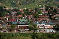 Cidade de Parauapebas ao pé da serra dos Carajás, centro, periferia, prefeitura e entorno.<br /> Parauapebas, Pará, Brasil<br /> Foto Paulo Santos<br /> 19/05/2011