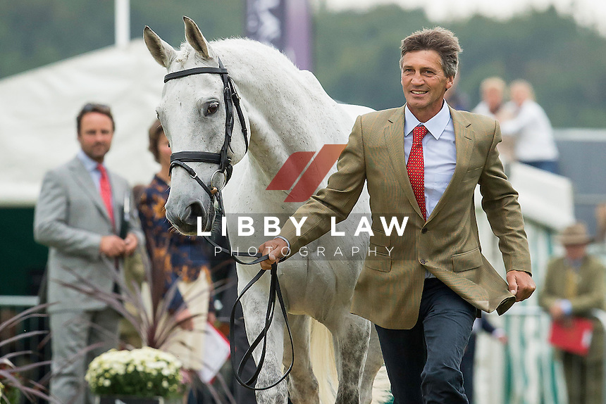 NZL-Andrew Nicholson (AVEBURY) FIRST HORSE INSPECTION: 2014 GBR-Land Rover Burghley Horse Trial (Wednesday 3 September) CREDIT: Libby Law COPYRIGHT: LIBBY LAW PHOTOGRAPHY - NZL