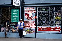 San Francisco, California.  Mission District Butcher Shop, Mexicatessen