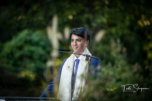 Dylan's Bar Mitzvah In The Garden Of<br /> Shaaray Tefila
