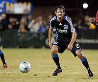 Bobby Burling. FC Dallas defeated the San Jose Earthquakes 2-1 at Buck Shaw Stadium in Santa Clara, California on October 7, 2009.