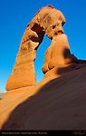 Delicate Arch at Sunrise, Arches National Park, Moab, Utah