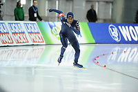 SPEEDSKATING: SALT LAKE CITY: 08-12-2017, Utah Olympic Oval, ISU World Cup, 500m Men B-Division, Shani Davis (USA), ©photo Martin de Jong