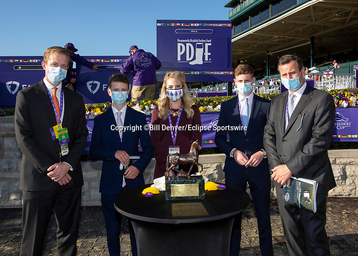 November 7, 2020 : Breeders' Award, FanDuel Mile presented by PDJF on Breeders' Cup Championship Saturday at Keeneland Race Course in Lexington, Kentucky on November 7, 2020. Bill Denver/Eclipse Sportswire/Breeders' Cup/CSM