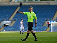 5th April 2021; Ewood Park, Blackburn, Lancashire, England; English Football League Championship Football, Blackburn Rovers versus Bournemouth; Referee Darren Bond