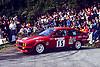 15 ALFA ROMEO Alfetta GTV6 #15, Bertrand BALAS (FRA)-Eric LAINE (FRA), TOUR DE CORSE 1986