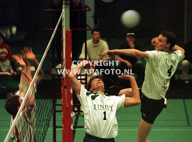 nijmegen 270299 volleybal VOCASSA-LYCURGUS(RECHTS)<br />foto frans ypma.