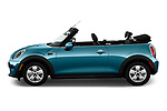 Car Driver side profile view of a 2019 MINI Convertible Cooper-Signature 2 Door Convertible Side View