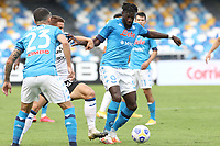 Tiemoue Bakayoko of SSC Napoli in action during the Serie A football match between SSC Napoli and Atalanta BC at San Paolo stadium in Naples (Italy), October 17th 2020. Photo Cesare Purini / Insidefoto