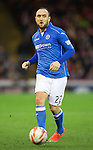 Aberdeen v St Johnstone...01.01.15   SPFL<br /> Lee Croft<br /> Picture by Graeme Hart.<br /> Copyright Perthshire Picture Agency<br /> Tel: 01738 623350  Mobile: 07990 594431