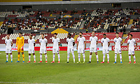 , MEXICO - : U-23 USMNT starting eleven during a game between  and undefined at  on ,  in , Mexico.