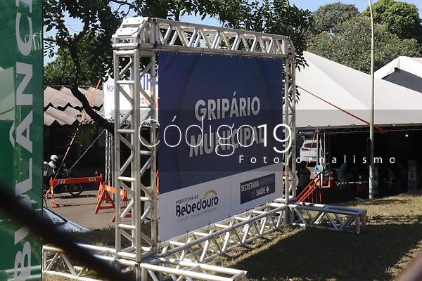 Bebedouro (SP), 20/05/2021 - Covid-SP - Hospital Julia Pinto em Bebedouro. Bebedouro, interior de São Paulo, entra em confinamento a partir desta quinta-feira (20) até 0h de 30 de maio para tentar conter o avanço da Covid-19, embora o governo estadual tenha autorizado a prorrogação da fase de transição do Plano São Paulo até 15 de junho, com mais relaxamentos da quarentena a partir do dia 1º.