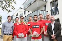 04.09.2015: United Volleys ziehen in Wohnungen der gewobau
