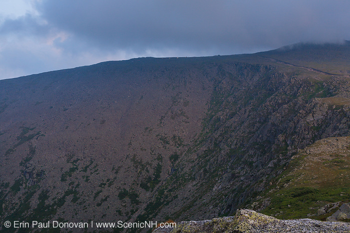 The Great Gulf Headwall on Mount Washington at dusk from Mount Clay in the White Mountains, New Hampshire USA.