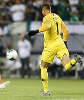 CHICAGO, ILLINOIS - JULY 07: Zack Steffen #1 during the 2019 CONCACAF Gold Cup Final match between the United States and Mexico at Soldier Field on July 07, 2019 in Chicago, Illinois.