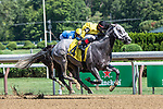 July 25, 2020: Skyler's Scamper ridden by Reylu Gutierrez trained by Michelle Nevin in the 6th race on Stakes on Alfred G Vanderbilt  Day at Saratoga Race Course in Saratoga Springs, New York. Rob Simmons/Eclipse Sportswire/CSM