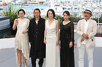 MISUZU KANNO, MASATOSHI NAGASE, DIRECTOR NAOMI KAWASE, AYAME MISAKI AND TATSUYA FUJI - PHOTOCALL OF THE FILM 'RADIANCE' AT THE 70TH FESTIVAL OF CANNES 2017